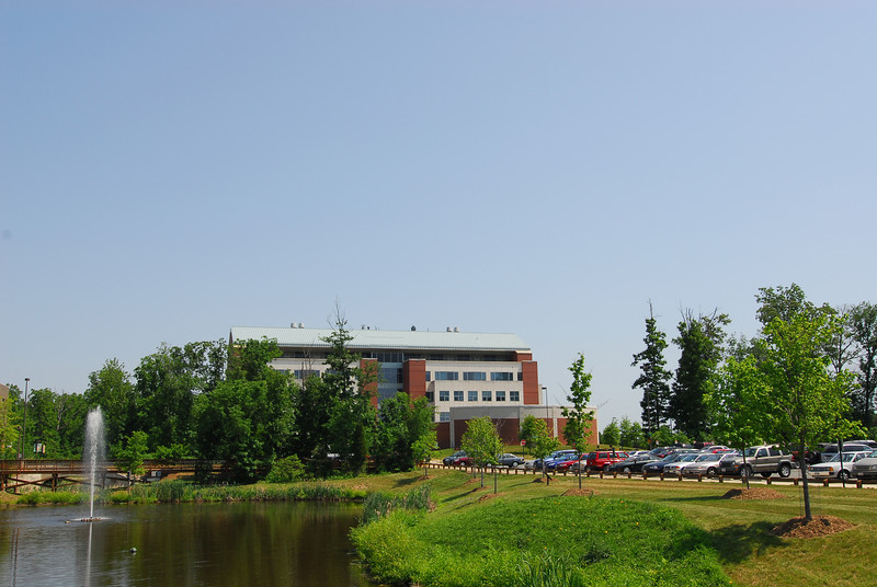 The Occoquan Building at the Science and Technology Campus. Photo by Creative Services/George Mason University