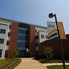 The Occoquan Building on the Science and Technology Campus. Photo by Creative Services/George Mason University