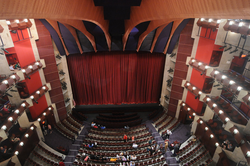 The interior of the Hylton Performing Arts Center on the Science and Technology Campus. Photo by Creative Services/George Mason University