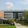 An exterior of the Science and Technology Campus. Photo by Evan Cantwell/Creative Services/George Mason University