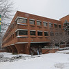 090127010 - Fairfax, VA, Robinson Hall in winter. Photo by Nicolas Tan/Creative Services/George Mason University
