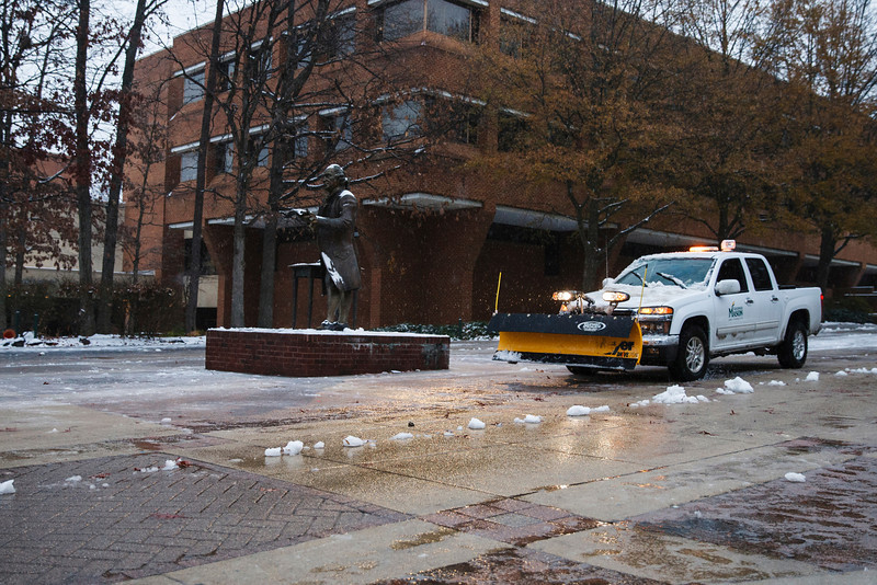 Winter Storm, Fairfax Campus,  Monday, Dec. 9, 2013