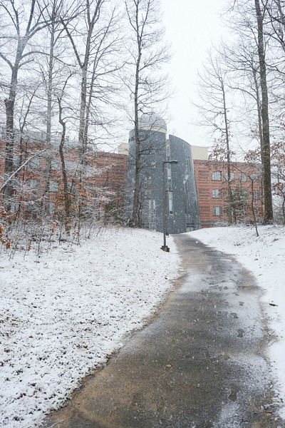 Fairfax Campus snow