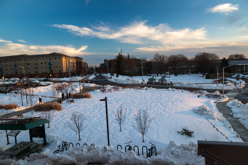 Fairfax Campus after blizzard