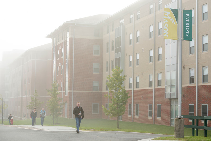Fog at Fairfax campus