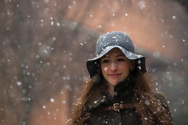 Fairfax Campus Snowfall