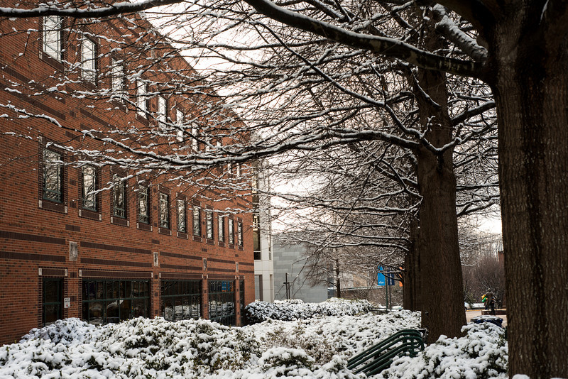 Snow at the Fairfax Campus