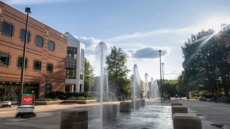 Fairfax Campus Fountains