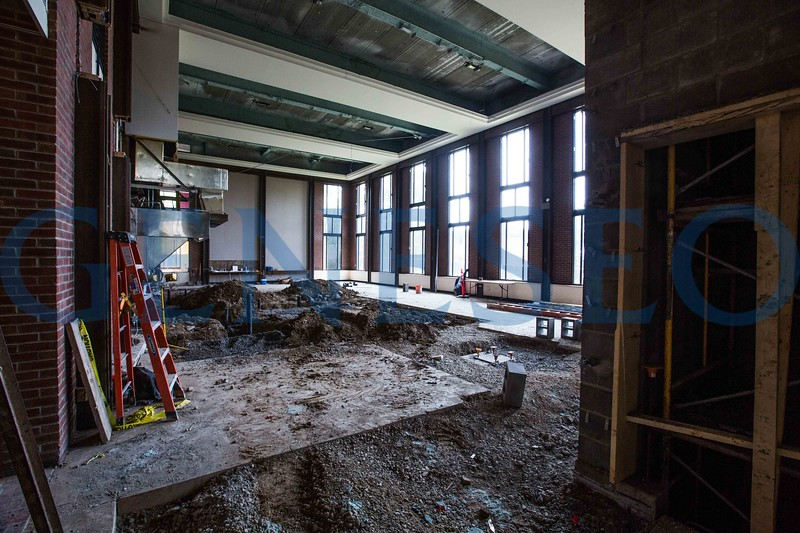 Red Jacket (RJ) dining hall renovation capital improvement project construction KW