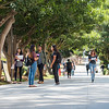 Students and student life on the first day of classes for the Fall 2016 semester at California State University Dominguez Hills