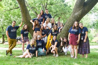 Summer Staff group shots