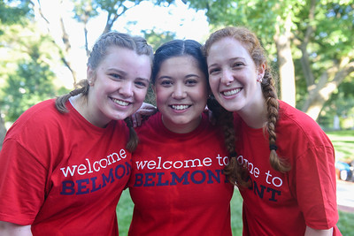 Move in day at Belmont