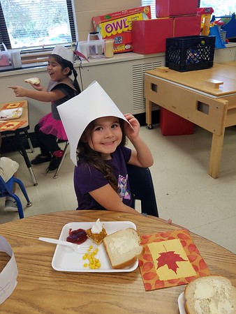 Pre-K Celebrates Thanksgiving