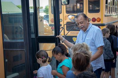 Bus driver Albert Adame.