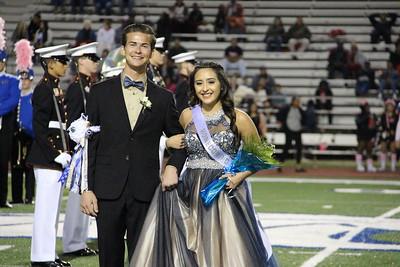 Junior Prince Tristan Rogers and Junior Princess Hazel Lopez