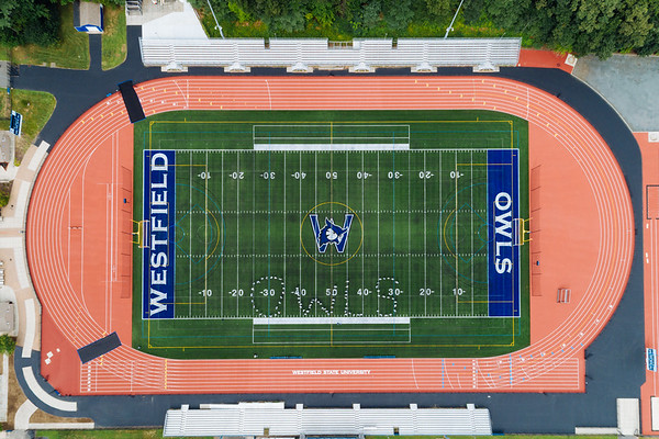 Drone images of campus