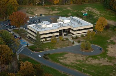 Aerial images of WSU campus