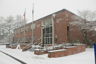 Snow storm at WSU