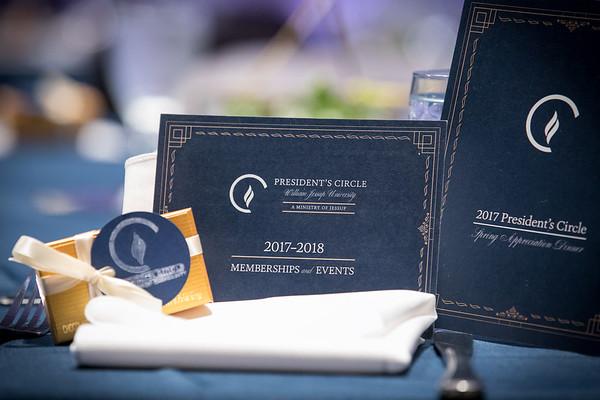 20170421_President's Circle Appreciation Dinner