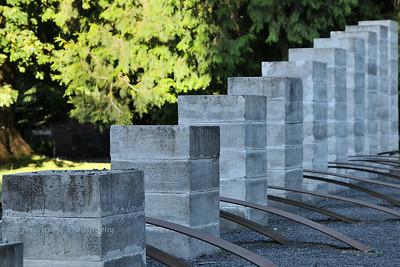 Path / Weg II Sculpture - University of Oregon