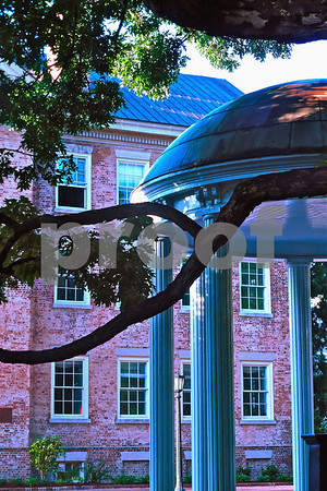 Old Well and Campus UNC June 19 2013