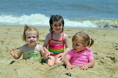Cousins: Amelia, Audrey, Camille