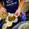 KRISTOPHER RADDER — BRATTLEBORO REFORMER<br /> Can Cops Cook brought several different agencies together for a cooking competition at the VFW, in Brattleboro, on Saturday, Feb. 29, 2020.  Seventy-one people attended the event, bringing in $939 at the door and an extra $2,900 from corporate sponsorship.