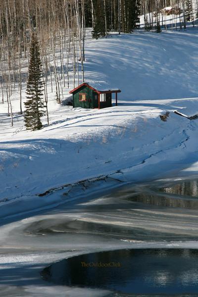 Pond shack brite