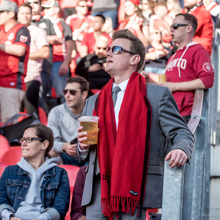 The most interesting man at the match.