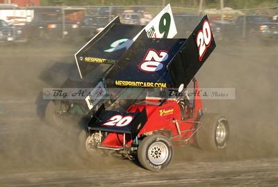 Canaan dirt Speedway 08/07/10