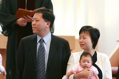 Baby Dedication 5-21-2006