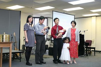 Taiwanese Baby Baptism 8-16-2009
