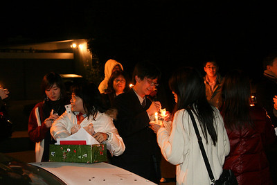Mandarin Christmas caroling 2009