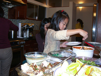 Thanksgiving dinner 2009