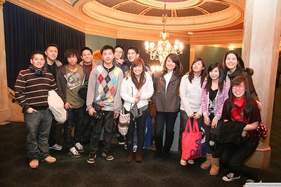 Youth at SF Hillsong concert