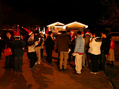 Christmas Caroling 12-24-2013