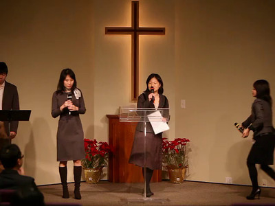 Mandarin message/worship 2014