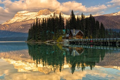 Lago Esmeralda  / Emerald lake