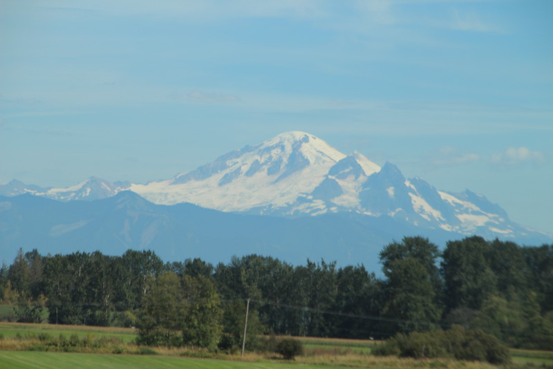 Mt Baker from Bellingham WA