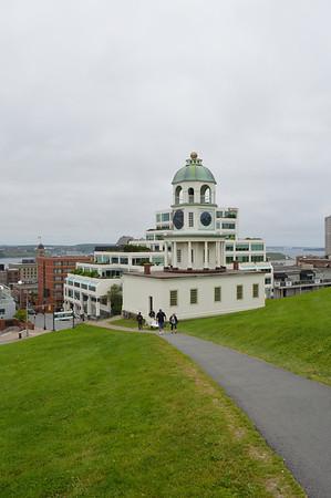 Canada 2013 - July 10 - Halifax - Clock tower at The Citadel #2