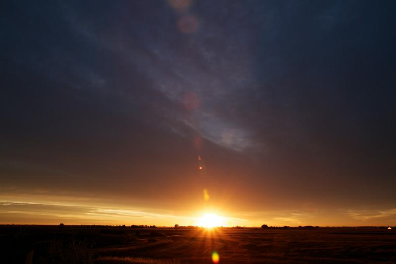 Sunrise at the Farm - 06:55
