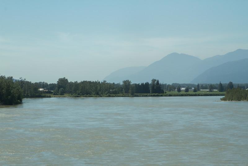 Mellem Hope og Vancouver