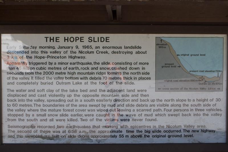 Mellem Penticton og Hope