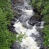 Wawa stream from bridge.  7/12/2017