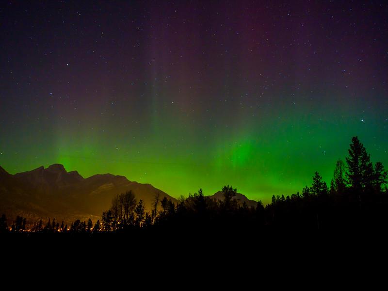 Northern Lights, Fernie, British Columbia