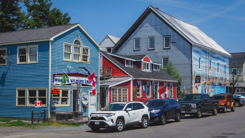 Visiting the seaside town of St. Andrews in New Brunswick