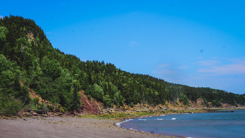 Herring Cove Beach in Fundy National Park