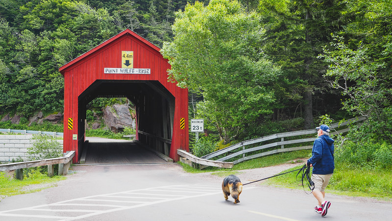 Covered Bridge in Fundy National Park