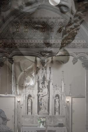 Double Exposure - St. Dunstan's Basilica