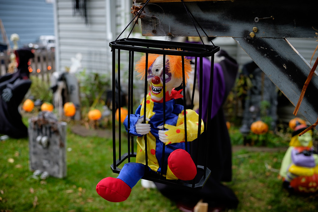 Halloween Decoration, Sydney Nova Scotia